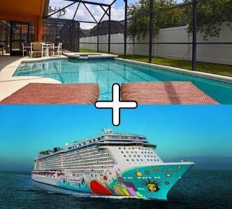 Villa med pool og krydstogt