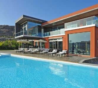 villa med pool gran canaria