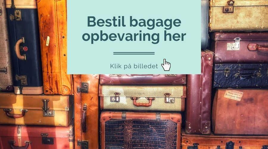 bagage opbevaring