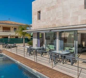 villa med pool mallorca, villa med pool alcudia